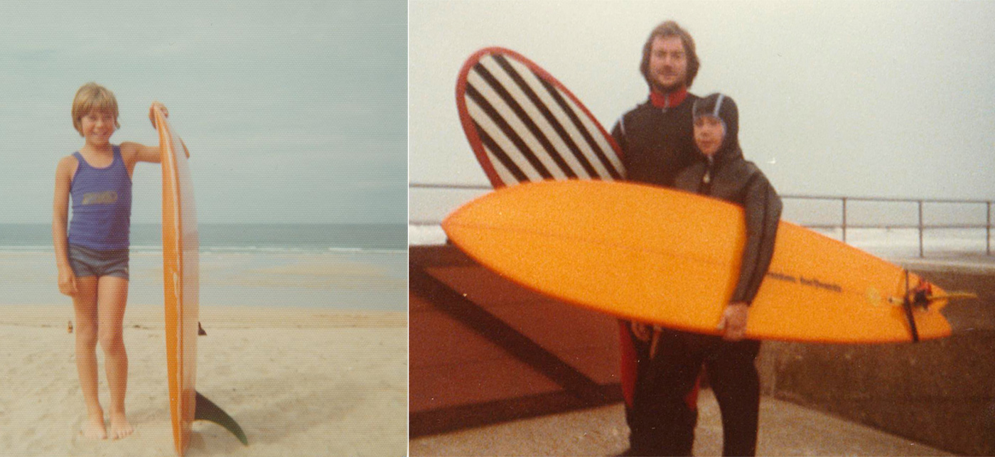 neil-b-and-dad-surfing